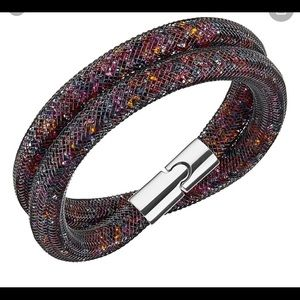 Swarovski stardust dark multicolored bracelet